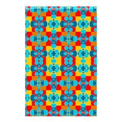 Pop Art Abstract Design Pattern Shower Curtain 48  x 72  (Small)