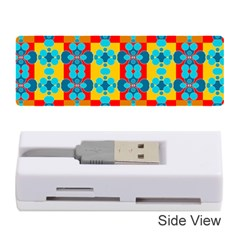 Pop Art Abstract Design Pattern Memory Card Reader (Stick)