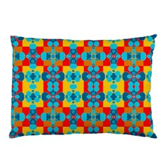 Pop Art Abstract Design Pattern Pillow Case (Two Sides)