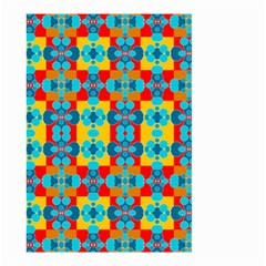 Pop Art Abstract Design Pattern Small Garden Flag (Two Sides)