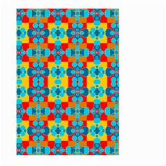 Pop Art Abstract Design Pattern Large Garden Flag (Two Sides)
