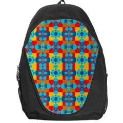 Pop Art Abstract Design Pattern Backpack Bag