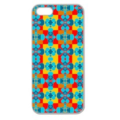 Pop Art Abstract Design Pattern Apple Seamless iPhone 5 Case (Clear)
