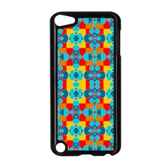 Pop Art Abstract Design Pattern Apple iPod Touch 5 Case (Black)