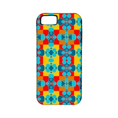Pop Art Abstract Design Pattern Apple iPhone 5 Classic Hardshell Case (PC+Silicone)