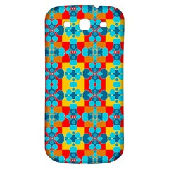 Pop Art Abstract Design Pattern Samsung Galaxy S3 S III Classic Hardshell Back Case