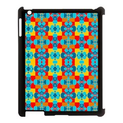 Pop Art Abstract Design Pattern Apple iPad 3/4 Case (Black)