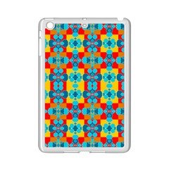 Pop Art Abstract Design Pattern iPad Mini 2 Enamel Coated Cases