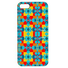 Pop Art Abstract Design Pattern Apple iPhone 5 Hardshell Case with Stand