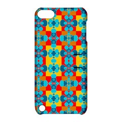 Pop Art Abstract Design Pattern Apple iPod Touch 5 Hardshell Case with Stand