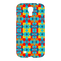 Pop Art Abstract Design Pattern Samsung Galaxy S4 I9500/I9505 Hardshell Case