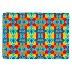 Pop Art Abstract Design Pattern Samsung Galaxy Tab 8.9  P7300 Flip Case
