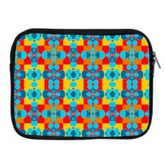 Pop Art Abstract Design Pattern Apple iPad 2/3/4 Zipper Cases