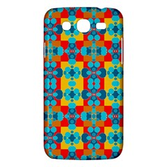 Pop Art Abstract Design Pattern Samsung Galaxy Mega 5.8 I9152 Hardshell Case
