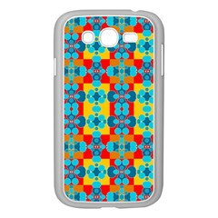 Pop Art Abstract Design Pattern Samsung Galaxy Grand DUOS I9082 Case (White)