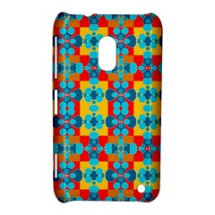 Pop Art Abstract Design Pattern Nokia Lumia 620