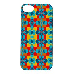 Pop Art Abstract Design Pattern Apple iPhone 5S/ SE Hardshell Case