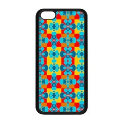 Pop Art Abstract Design Pattern Apple iPhone 5C Seamless Case (Black)