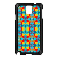 Pop Art Abstract Design Pattern Samsung Galaxy Note 3 N9005 Case (Black)