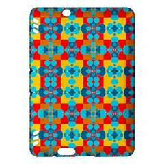 Pop Art Abstract Design Pattern Kindle Fire HDX Hardshell Case