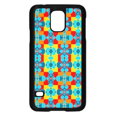 Pop Art Abstract Design Pattern Samsung Galaxy S5 Case (Black)