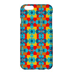 Pop Art Abstract Design Pattern Apple iPhone 6 Plus/6S Plus Hardshell Case