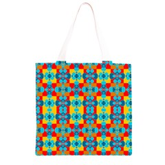 Pop Art Abstract Design Pattern Grocery Light Tote Bag