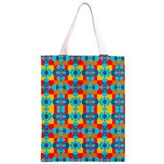 Pop Art Abstract Design Pattern Classic Light Tote Bag