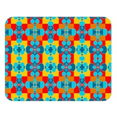 Pop Art Abstract Design Pattern Double Sided Flano Blanket (Large)