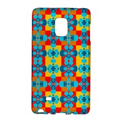 Pop Art Abstract Design Pattern Galaxy Note Edge