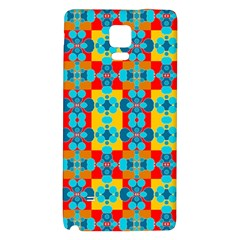 Pop Art Abstract Design Pattern Galaxy Note 4 Back Case