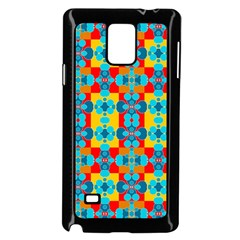 Pop Art Abstract Design Pattern Samsung Galaxy Note 4 Case (Black)