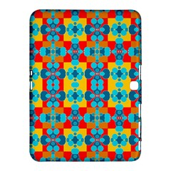 Pop Art Abstract Design Pattern Samsung Galaxy Tab 4 (10.1 ) Hardshell Case