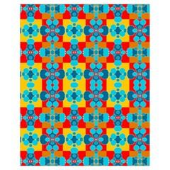 Pop Art Abstract Design Pattern Drawstring Bag (Small)