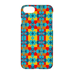 Pop Art Abstract Design Pattern Apple iPhone 7 Hardshell Case
