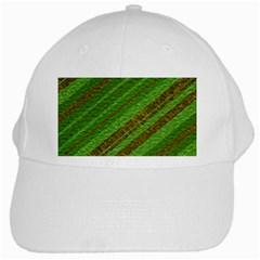 Stripes Course Texture Background White Cap