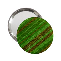 Stripes Course Texture Background 2.25  Handbag Mirrors