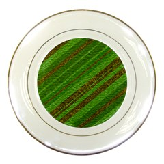 Stripes Course Texture Background Porcelain Plates