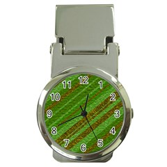 Stripes Course Texture Background Money Clip Watches