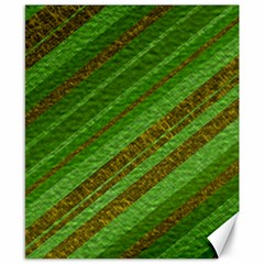 Stripes Course Texture Background Canvas 8  x 10