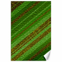 Stripes Course Texture Background Canvas 24  x 36