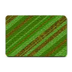 Stripes Course Texture Background Small Doormat