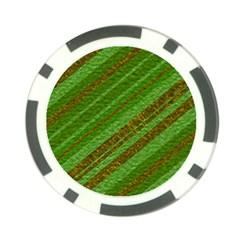 Stripes Course Texture Background Poker Chip Card Guards (10 pack)