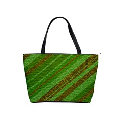 Stripes Course Texture Background Shoulder Handbags