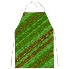 Stripes Course Texture Background Full Print Aprons