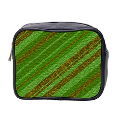 Stripes Course Texture Background Mini Toiletries Bag 2-Side