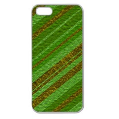 Stripes Course Texture Background Apple Seamless iPhone 5 Case (Clear)