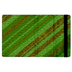 Stripes Course Texture Background Apple iPad 2 Flip Case