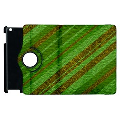 Stripes Course Texture Background Apple iPad 3/4 Flip 360 Case