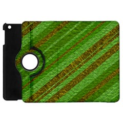 Stripes Course Texture Background Apple iPad Mini Flip 360 Case